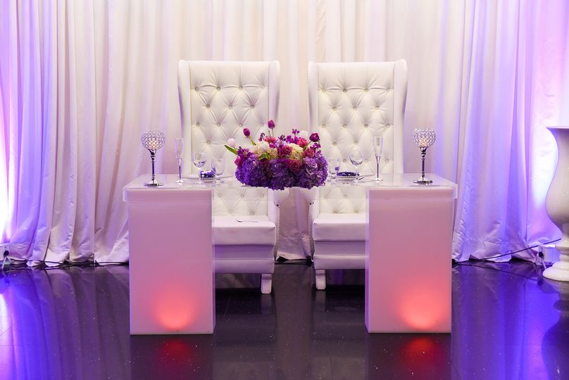 Couple table setup