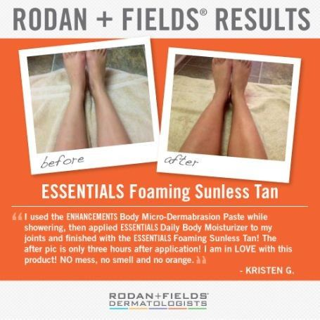 essentials foaming sunless tanner