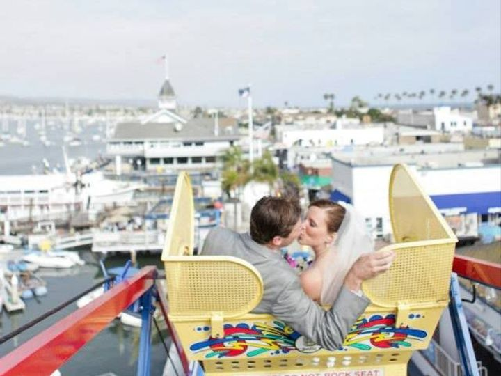 Tmx 1394832225375 Garrett And Christina Cropped Ferris Whee Newport Beach, CA wedding venue