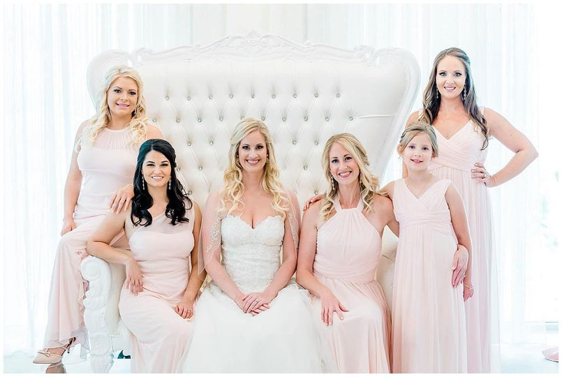 Anna's Bridal Party