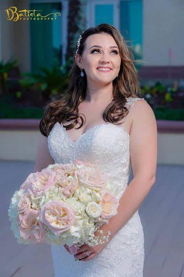 Beautiful Blushing Brude