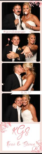 Wedding photo strip