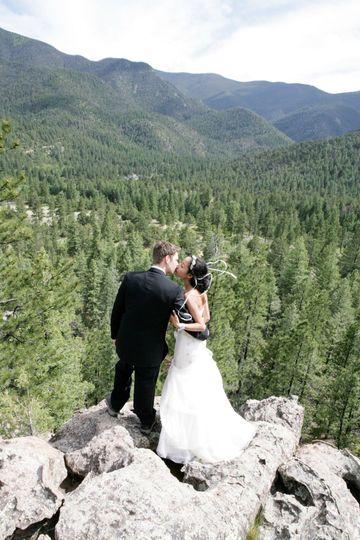 Ute Park and National Forest wedding in northern New Mexico