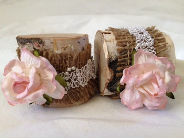 Such a soft pink beautiful place card holder. A beautiful bridal look. Perfect for a rustic barn...