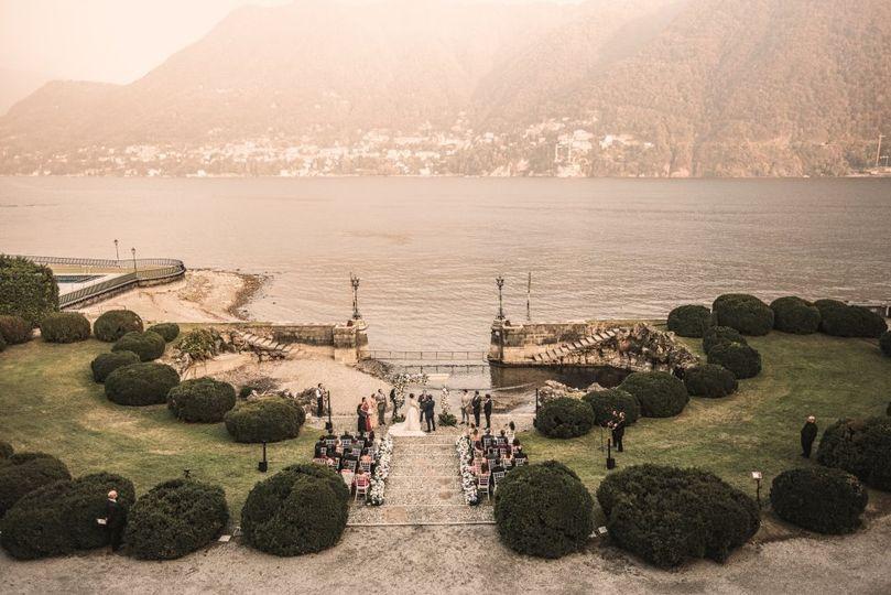 Lake Como ceremony