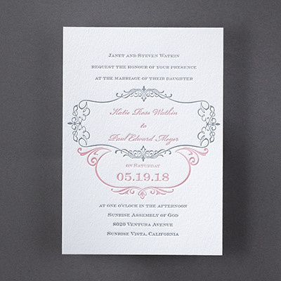 Tmx 1486064487087 3124bs31183mn Perry Hall, Maryland wedding invitation