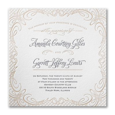 Tmx 1486064507678 3124bs39988fwzm Perry Hall, Maryland wedding invitation