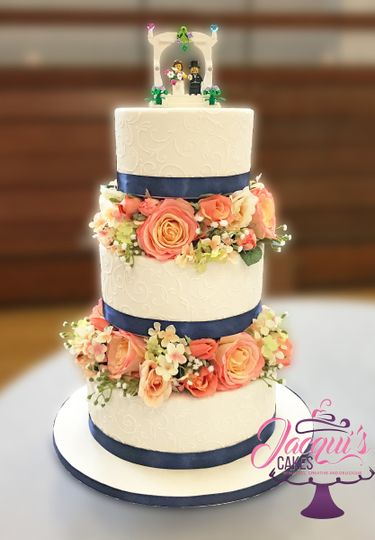 wedding cakes kent wa jacqui s cakes wedding cake bonney lake wa weddingwire 24847
