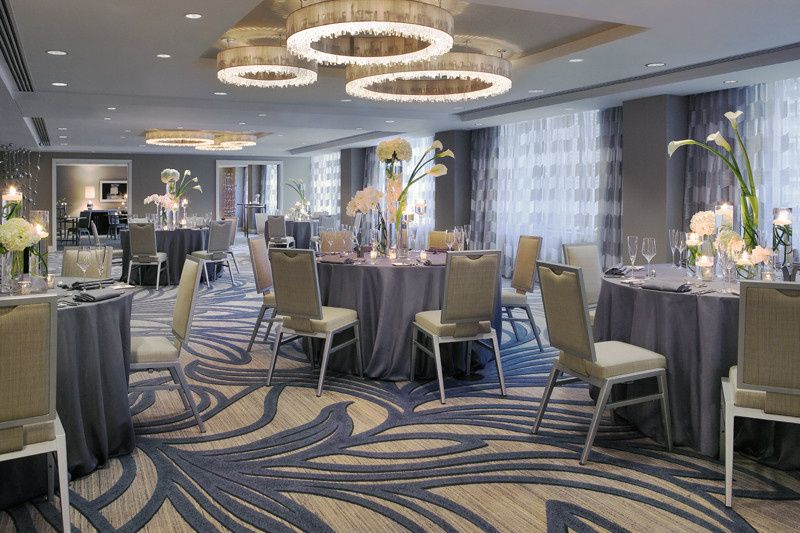 Conrad Ballroom located on the 11th floor. Features 3,200 square feet, accommodating up to 150...