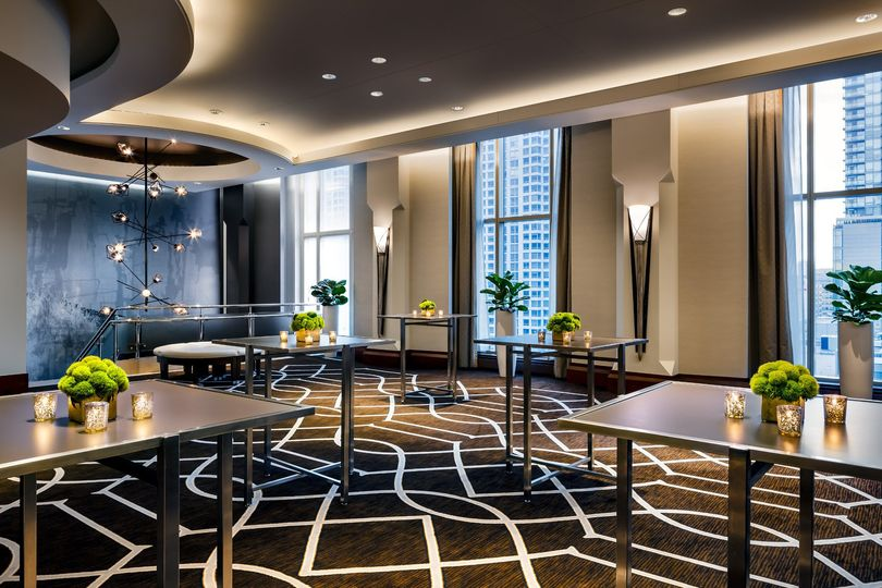 Magnolia Ballroom Pre-Function area accessible by ornamental staircase from the 5th Floor or...