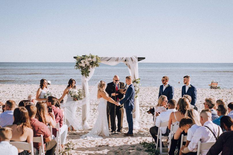 Fire Island, NY, wedding