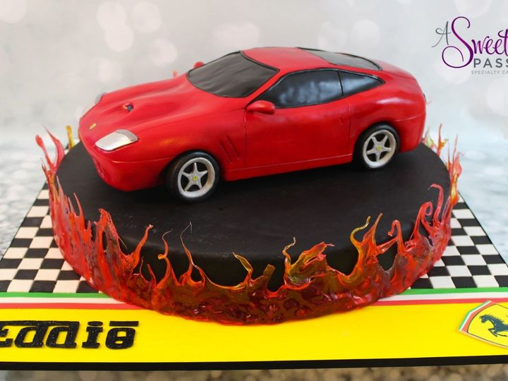 Tmx 1462746484716 Ferraricar Warren wedding cake