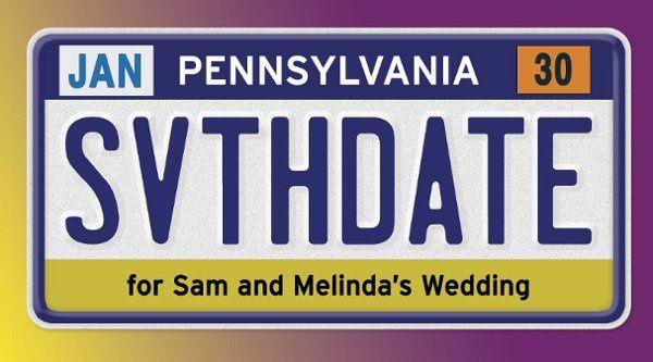 Tmx 1232483374187 PennSavetheDate Durham wedding invitation