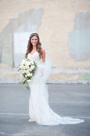 The brides portrait