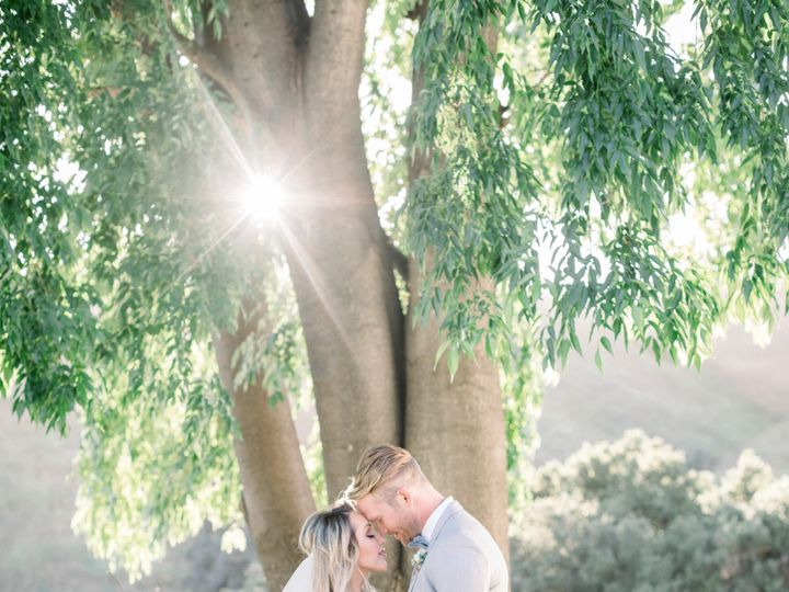 Tmx Kissing At Tree Light1 51 1014436 1562635538 Agoura Hills, CA wedding venue