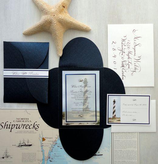 Hatteras Lighthouse Invite