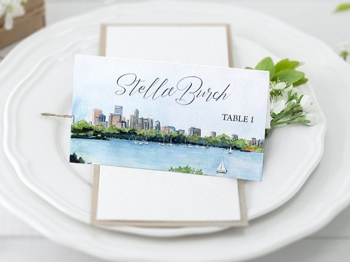 Tmx Placecard Cityscape 51 584436 1571057000 Albany, NY wedding invitation