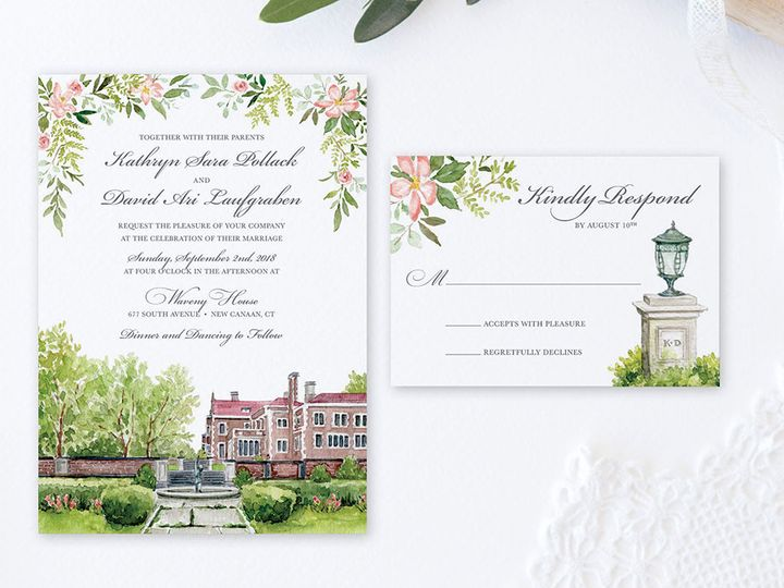 Tmx Wavenyhouseinvite 51 584436 Albany, NY wedding invitation