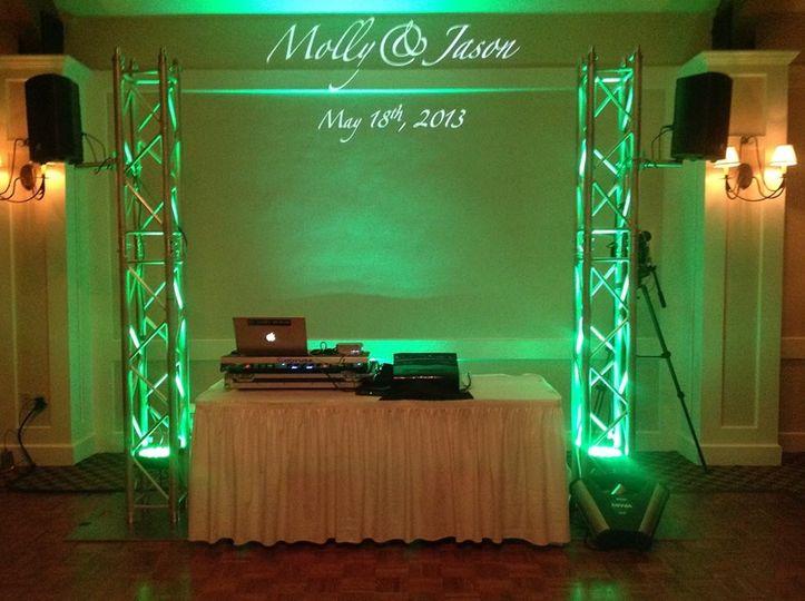 Crown DJ's turntable setup