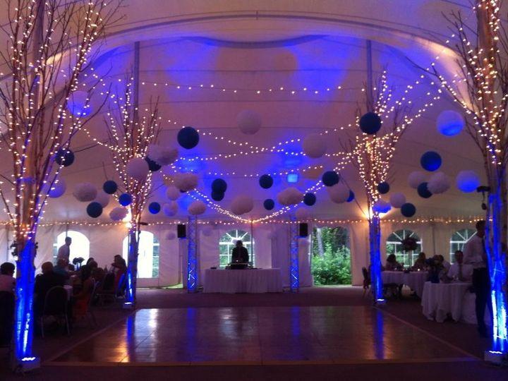 Tmx 1379093529739 Blue Truss Uplights North Chelmsford wedding dj