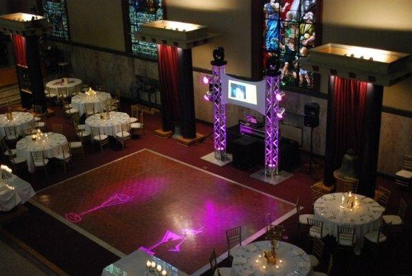 Tmx 1379093700266 3 Truss Lights Screen North Chelmsford wedding dj