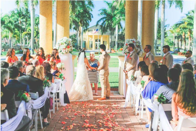 Lovely ceremony