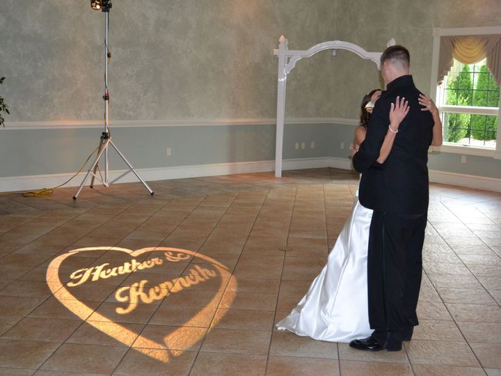 Tmx 1370004351761 Gobo Pic W Bride And Groom Wed Brochure 2012 Mont Alto, PA wedding dj