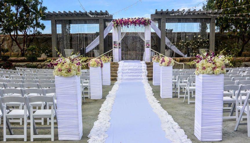 b5d5957e86ccc20d Vineyards Wedding Ceremony Chuppah