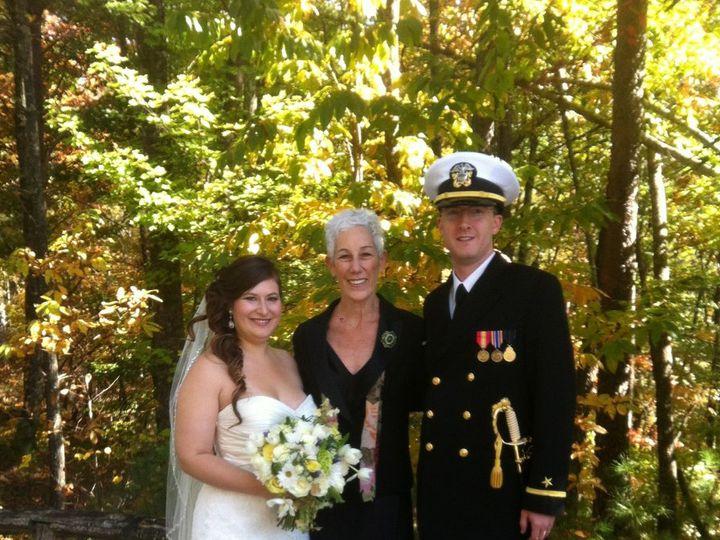 Tmx 1357852645962 CarolineJamison102012MarionNC Asheville, North Carolina wedding officiant