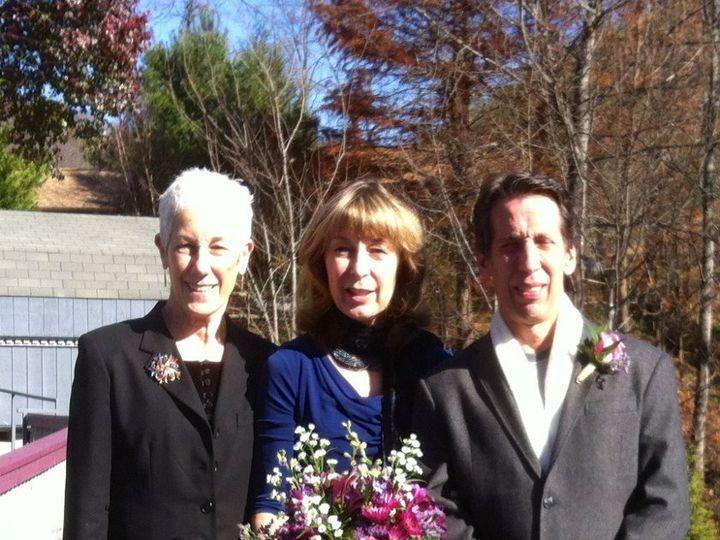 Tmx 1357853367999 EllenVinceWhittierNC111712 Asheville, North Carolina wedding officiant