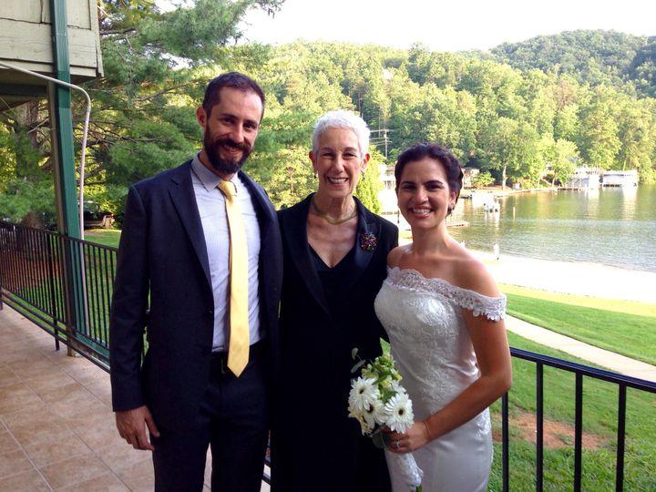 Tmx 1471976341788 Mariachris 72316 Rumbling Bald Asheville, North Carolina wedding officiant