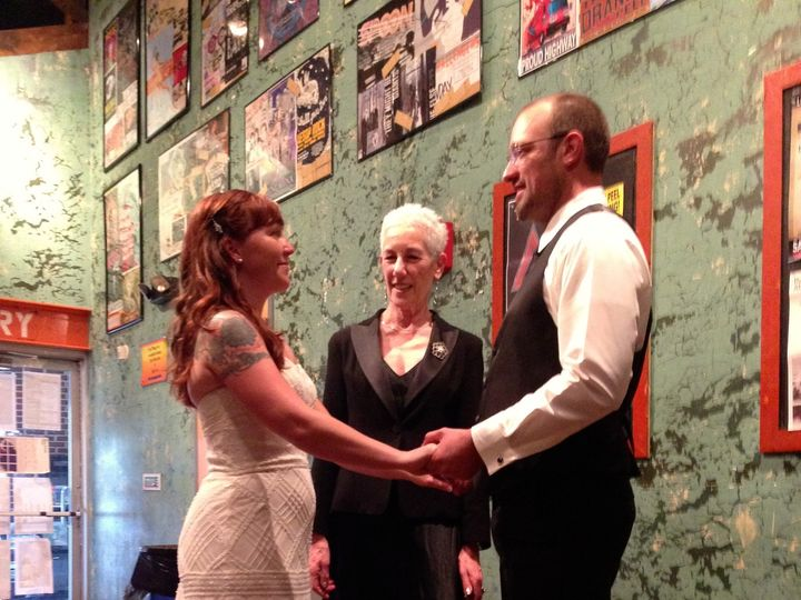 Tmx 1471979891316 Lesliechris 9614 Orange Peel Asheville, North Carolina wedding officiant