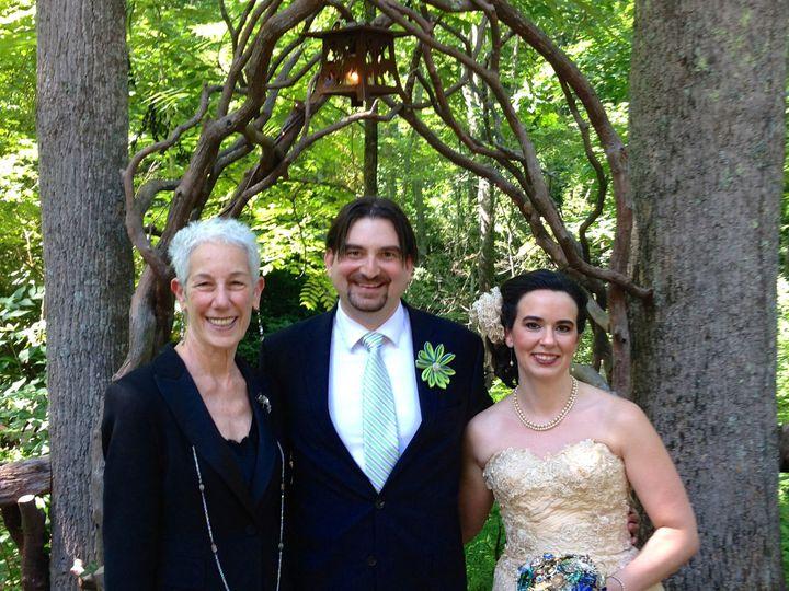 Tmx 1471980293593 Img4989 Mary Alicesteven 7514 Blk Mnt Sanc  Asheville, North Carolina wedding officiant