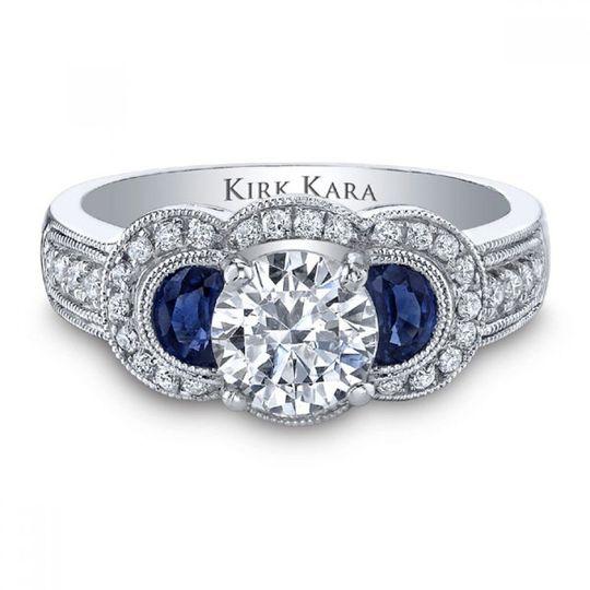 White ivory diamonds fine jewelry jewelry leesburg for Sapphire studios jewelry reviews