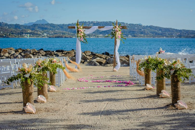 The wedding isle