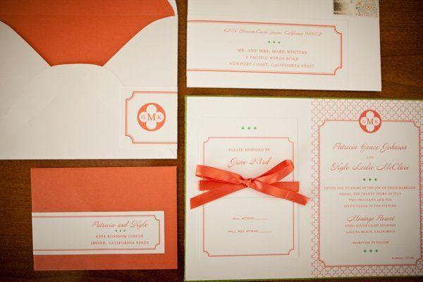 Tmx 1290068010546 Graceinviteset Irvine wedding invitation