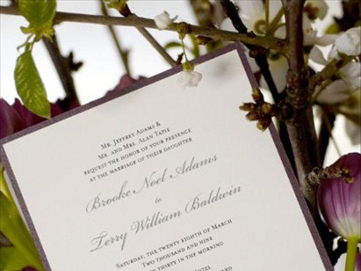 Tmx 1290068652593 BrookeandTerry2Detailsalacarte Irvine wedding invitation