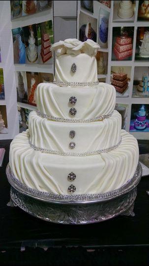 cakes by michele llc wedding cake syracuse ny weddingwire