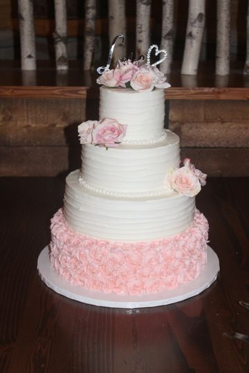 wedding cake rosette ribbon tailwater 51 142536 v1