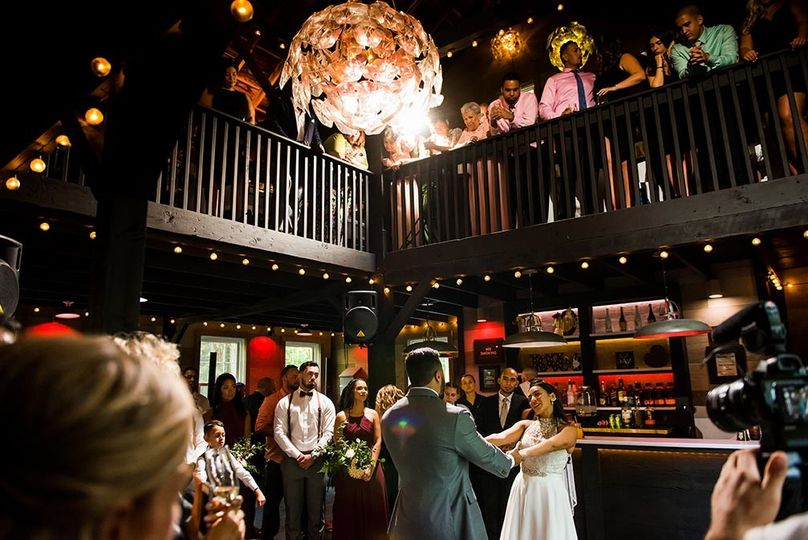 First Dance at The Roxbury Barn and Estate. Photo by Come Together Studios.
