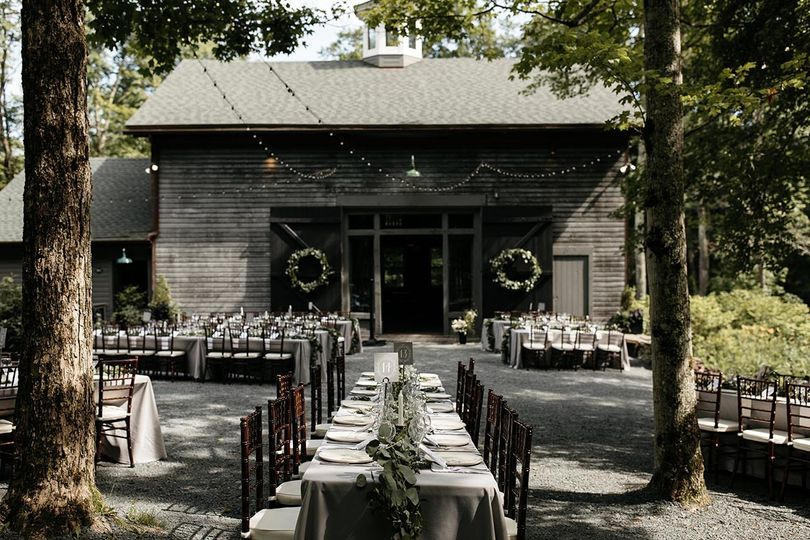 The Carriage Barn at The Roxbury Barn and Estate. Photo by Jean-Laurent Gaudy.
