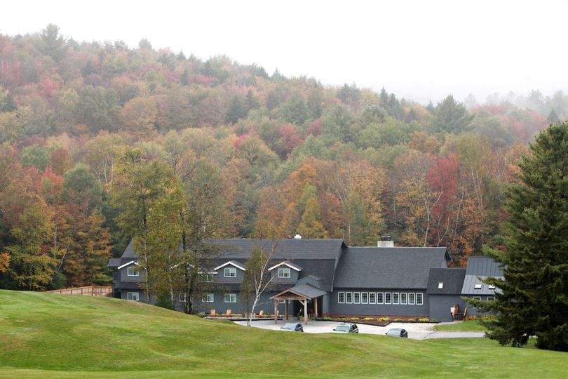 Trailside Inn in Fall