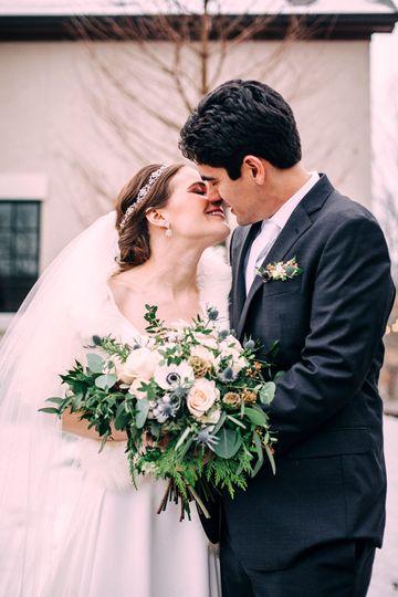 Lush Blush and Ivory Wedding