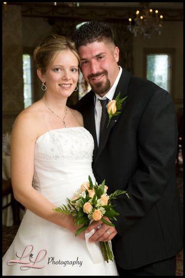 Megan and Matt . . . together forever!