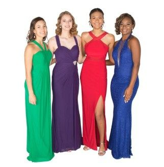 Evening wear for wedding guests