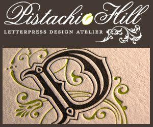 pistachio hill letterpress