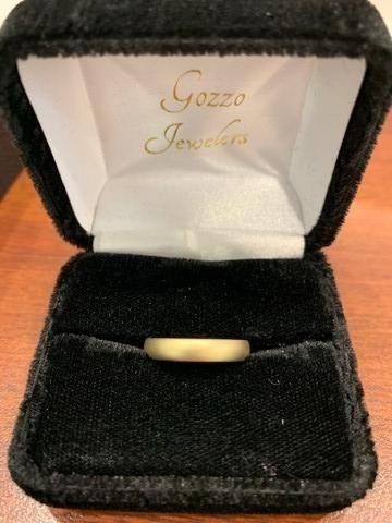 Gozzo Jewelers Gold Band