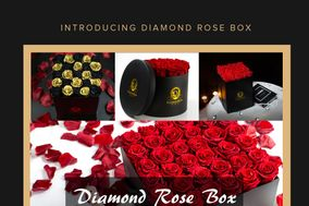 Diamond Rose Box
