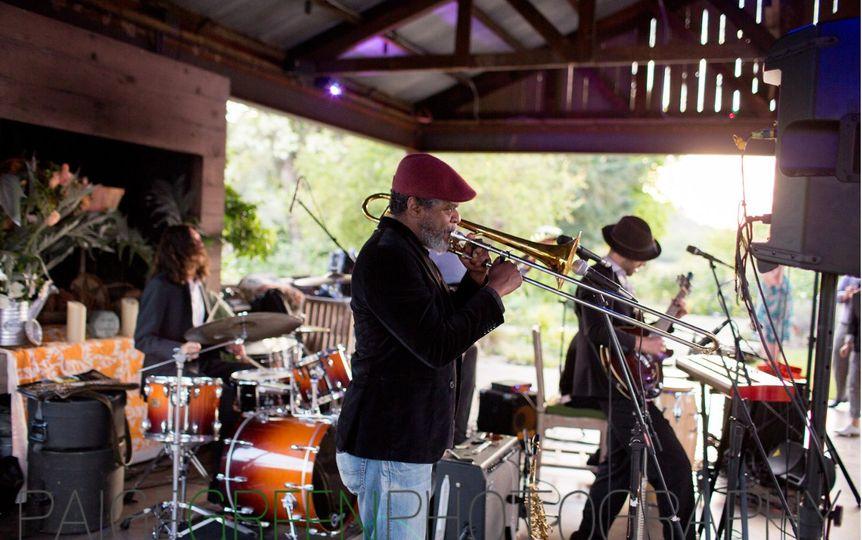 Front Porch Farm in Healdsburg - wedding entertainment