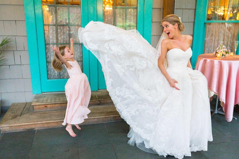 La Ferme wedding reception